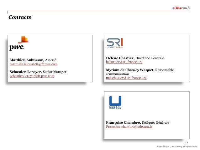 Contacts Matthieu Aubusson, Associé matthieu.aubusson@fr.pwc.com Sébastien Leroyer, Senior Manager sebastien.leroyer@fr.pw...