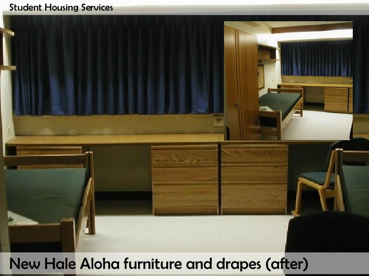 Student Housing Services; 27. New Hale Aloha Furniture ...
