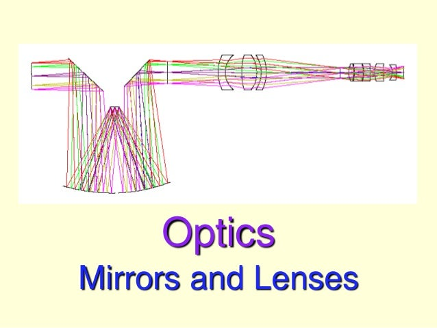Optics Mirrors and Lenses