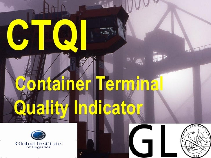CTQI Container Terminal Quality Indicator
