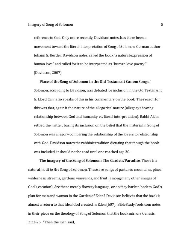 comparison between song of solomon and Compare themes/similarities between song of solomon, and morrison's song of solomon, and biblical hagar with morrison's hagar full transcript.