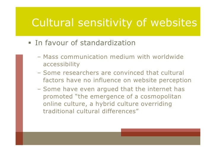 cultural differences in internet marketing Cultural factors are one of the most important factors that influence the cultural factors affecting consumer behaviour role of consumer behaviour in marketing.
