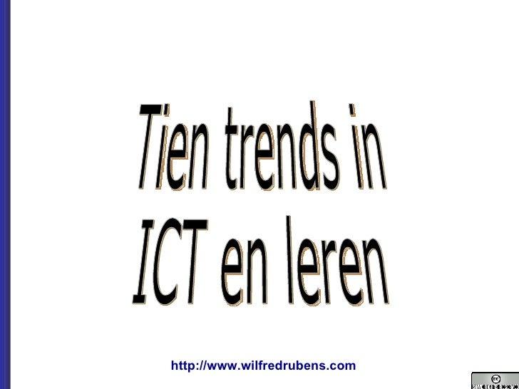 Tien trends in  ICT en leren