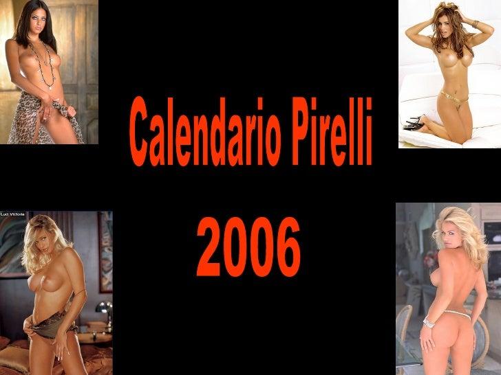 Calendario Pirelli 2006