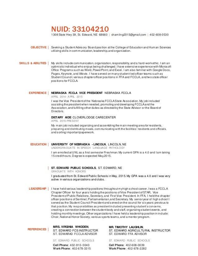 christina m hamling resume cehs advisory board