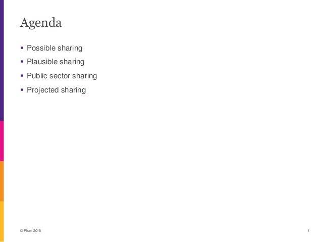 Future spectrum sharing scenarios - Tim Miller, Plum consulting Slide 2