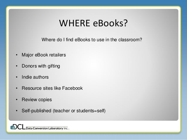 Ebooks for education using digital in the k12 classroom 14 qa mercy fandeluxe Image collections