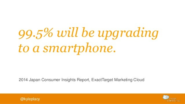 91% of consumers indicated that access to content across all devices was important. 2014 Mobile Behavior Report, ExactTarg...