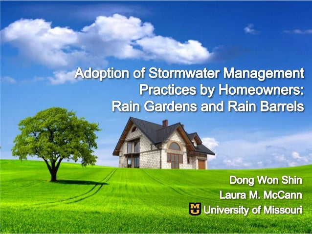 Factors Affecting Adoption of Stormwater Management