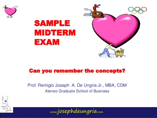 Exam 2013, questions and answers - Fall exam 2 - mgmt 20100