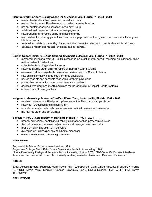 jackies new resume