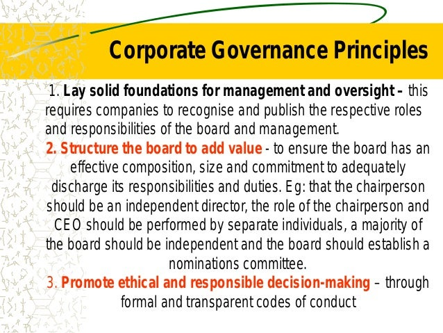 corporate governance challenges The challenges of governance, public sector reform and public administration in africaadministration in africa professor guy c z mhoneprofessor guy c z mhone.