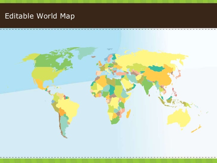 072 PowerPoint-Tastic Template - World Map