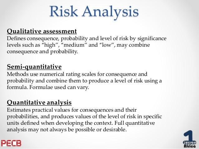 qualitative risk analysis