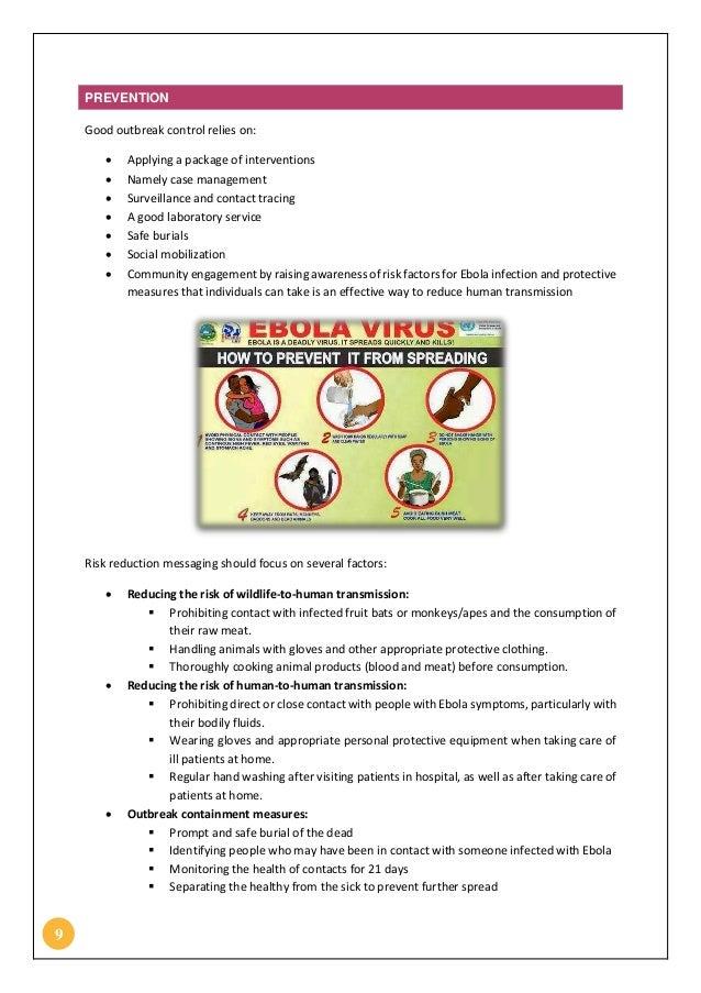 Ebola Assignment Essay