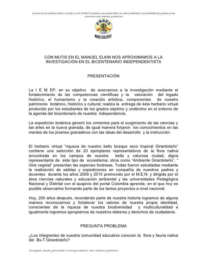 073 Girardot  InstitucióN Educativa Manuel Elkin Patarroyo2