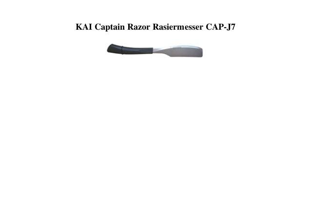 KAI Captain Razor Rasiermesser CAP-J7