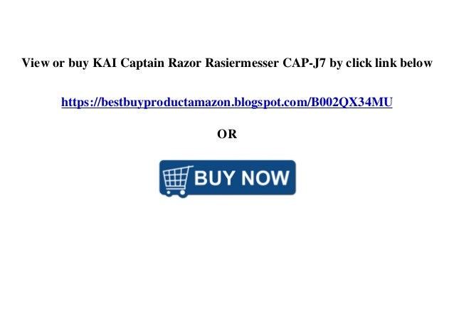 View or buy KAI Captain Razor Rasiermesser CAP-J7 by click link below https://bestbuyproductamazon.blogspot.com/B002QX34MU...