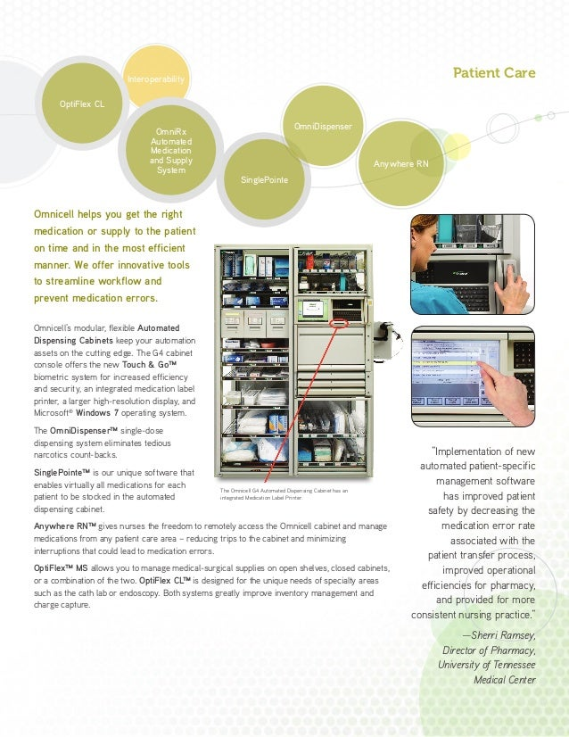 Omnicell Solutions Overview Brochure 704 C