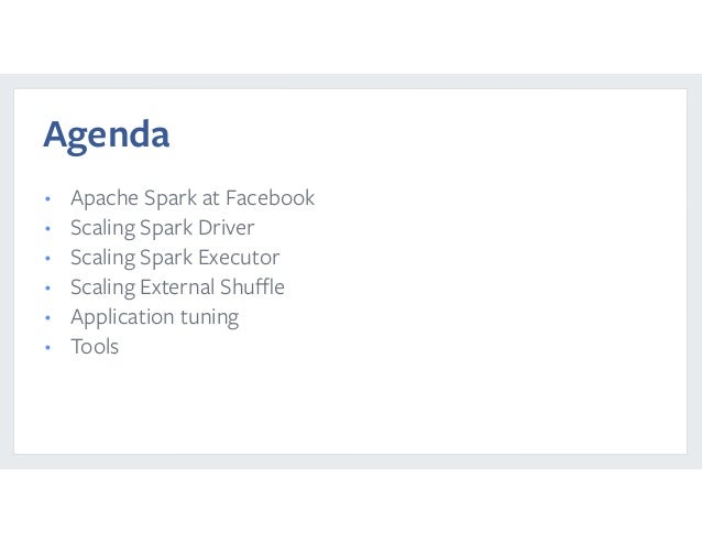 Tuning Apache Spark for Large-Scale Workloads Gaoxiang Liu and Sital Kedia Slide 2