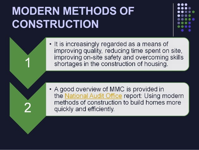 075 Modern Methods Of Construction