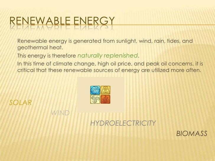 0752168 Renewable Energy