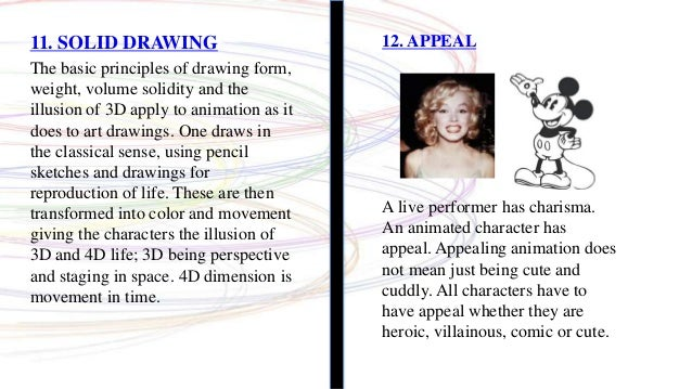 12 basic principles of animation 12 basic principles of animation's wiki: disney's twelve basic principles of animation is a set of principles of animation introduced by the disney anim.