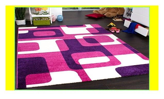 Paco Home Teppich Kinderzimmer Trendiger Retro Kinderteppich ...
