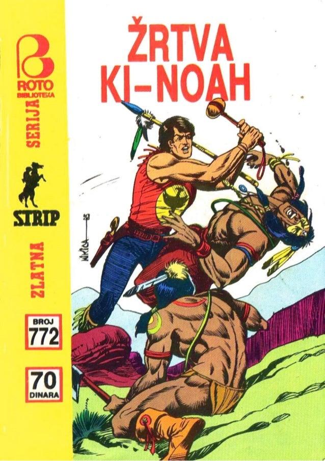 0772. ŽRTVA KI-NOAH