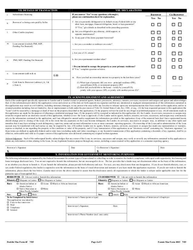 uniformresidentialloanapplication-4-638  Uniform Residential Loan Application Form Gmi on