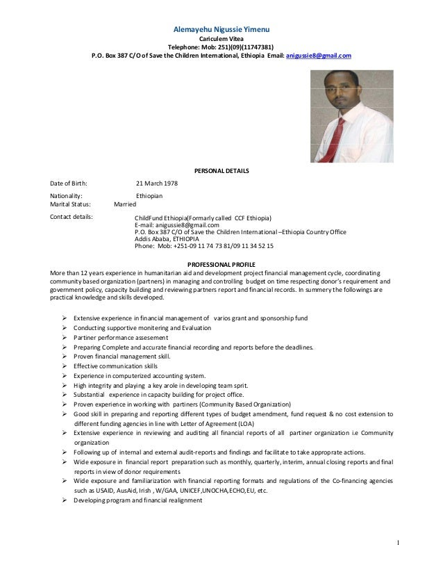 ausaid cv template - Akba.greenw.co