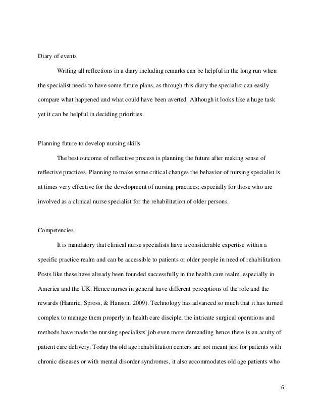 Learning event in nursing essay