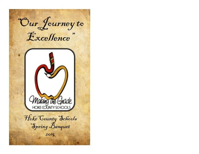 Our Journey to Excellence Booklet