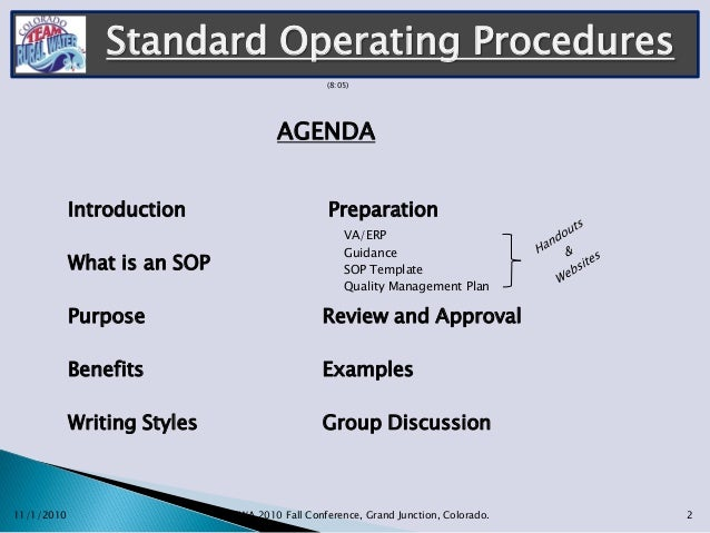 GerryshislerStandard Operating Procedures