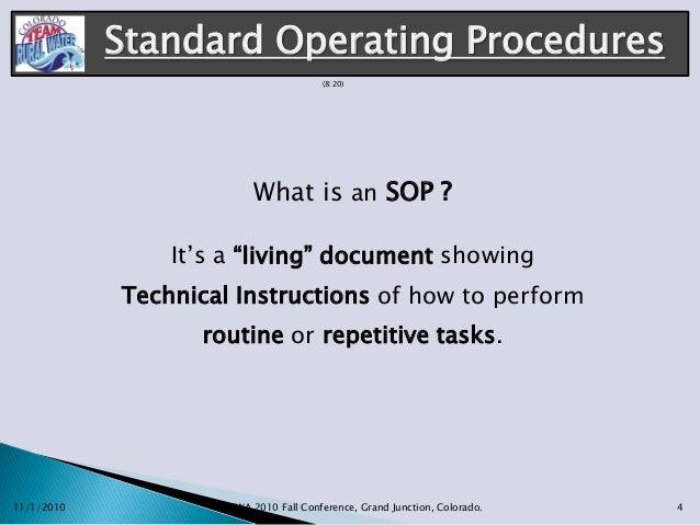 Wonderful What Is An SOP ?