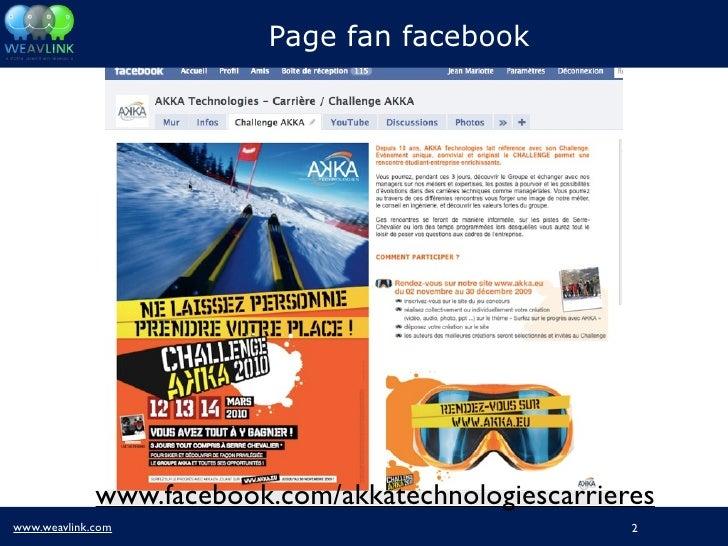 Atelier Image Employeur - Promotion d'un business game sur les réseaux sociaux Slide 2
