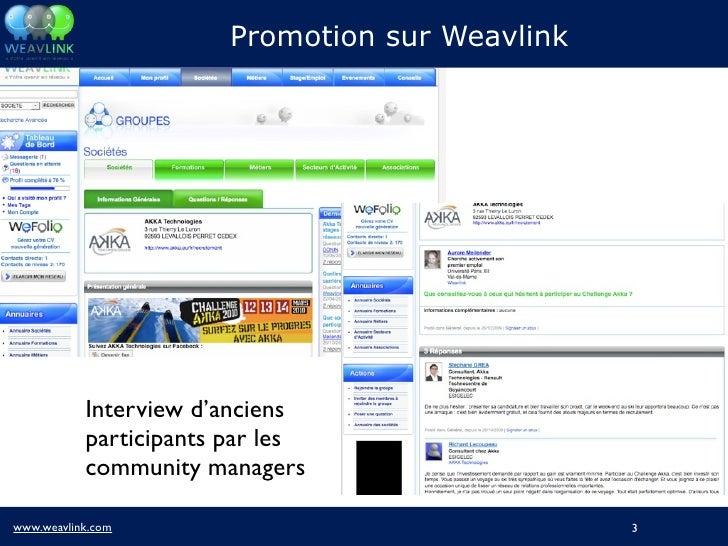 Atelier Image Employeur - Promotion d'un business game sur les réseaux sociaux Slide 3