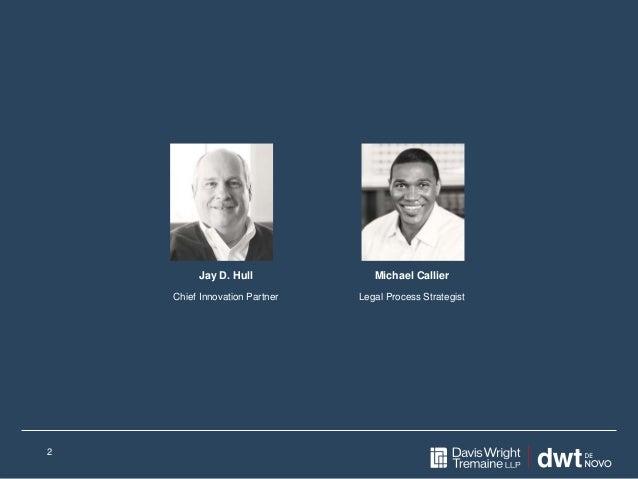 2 Jay D. Hull Chief Innovation Partner Michael Callier Legal Process Strategist