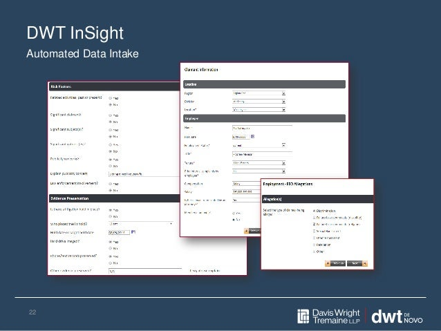 DWT InSight 22 Automated Data Intake