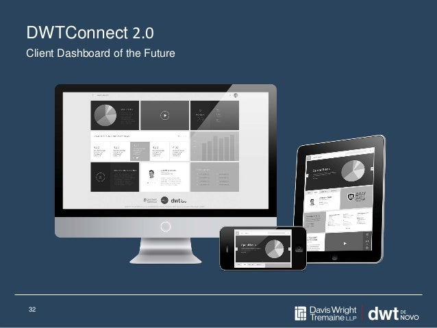 DWTConnect 2.0 32 Client Dashboard of the Future