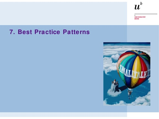 7. Best Practice Patterns