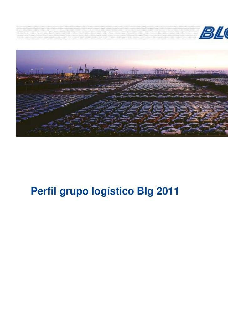 Perfil grupo logístico Blg 2011
