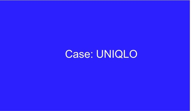 strategic management at uniqlo Since opening their first store in the us in 2005, the japanese casual wear designer, manufacturer and retailer uniqlo has swept the american retail scene by storm.