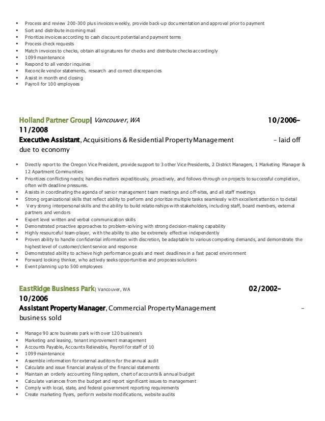 2015 detailed resume