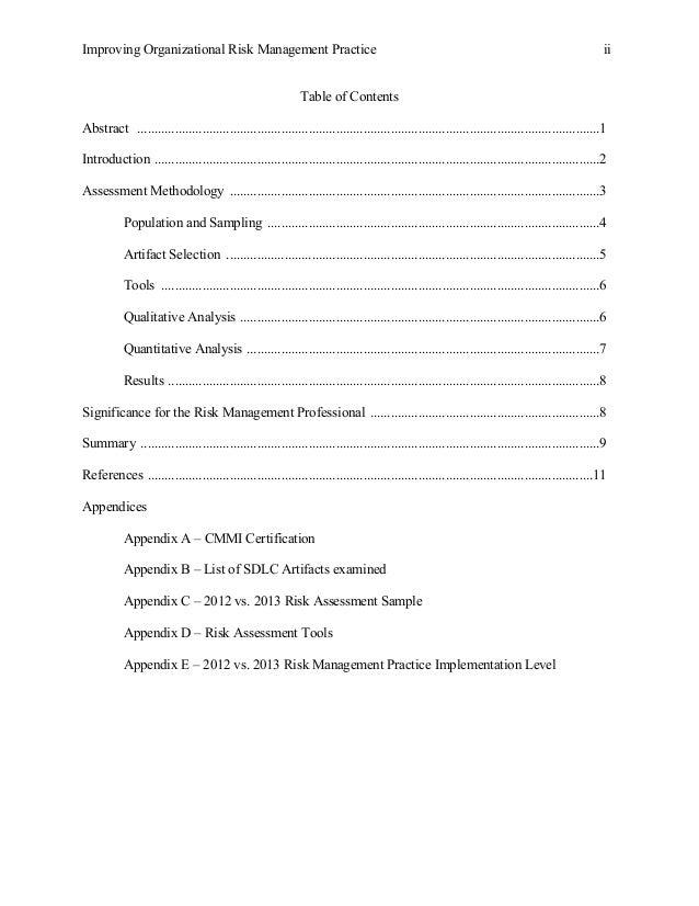 Improving organizational risk management practice 2 urtaz Choice Image
