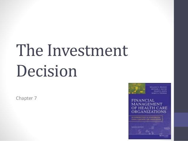 Investment decision gara podistica provaglio guglielmo investments