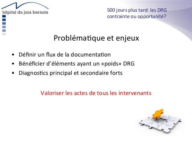 Probléma*que  et  enjeux   • Définir  un  flux  de  la  documenta*on   • Bénéficier  d'éléments  ayan...