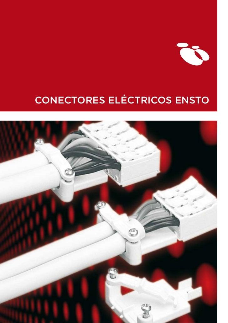 CONECTORES ELÉCTRICOS ENSTO