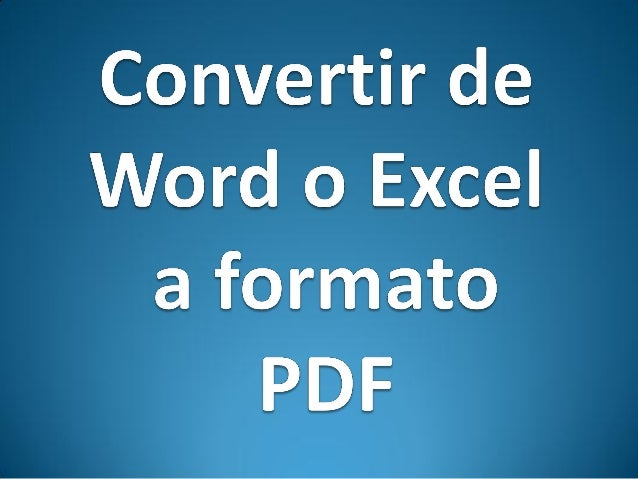 convertir documento de word a pdf gratis