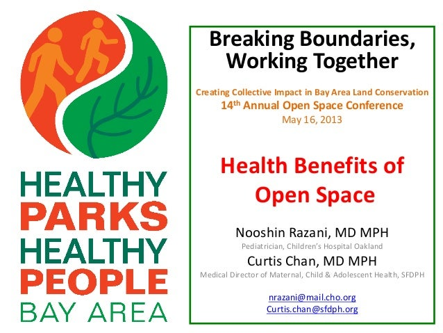 Breaking Boundaries,Working TogetherCreating Collective Impact in Bay Area Land Conservation14th Annual Open Space Confere...